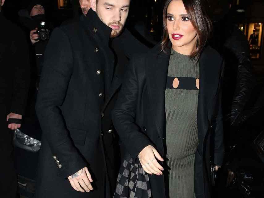 Liam y Cheryl.
