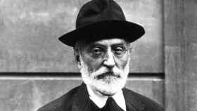 Miguel de Unamuno, en una fotografía de 1925.