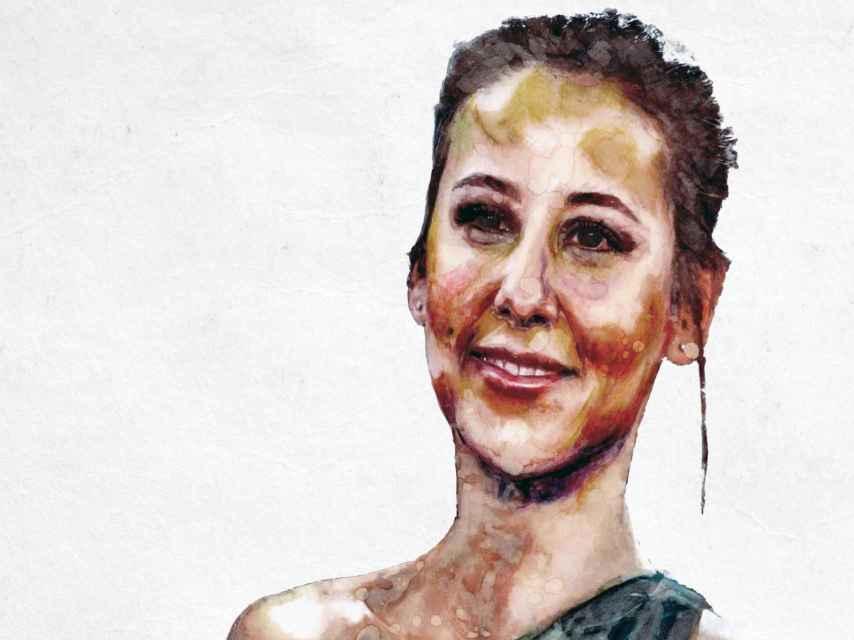 Irene Escolar vista por el ilustrador Javier Muñoz.