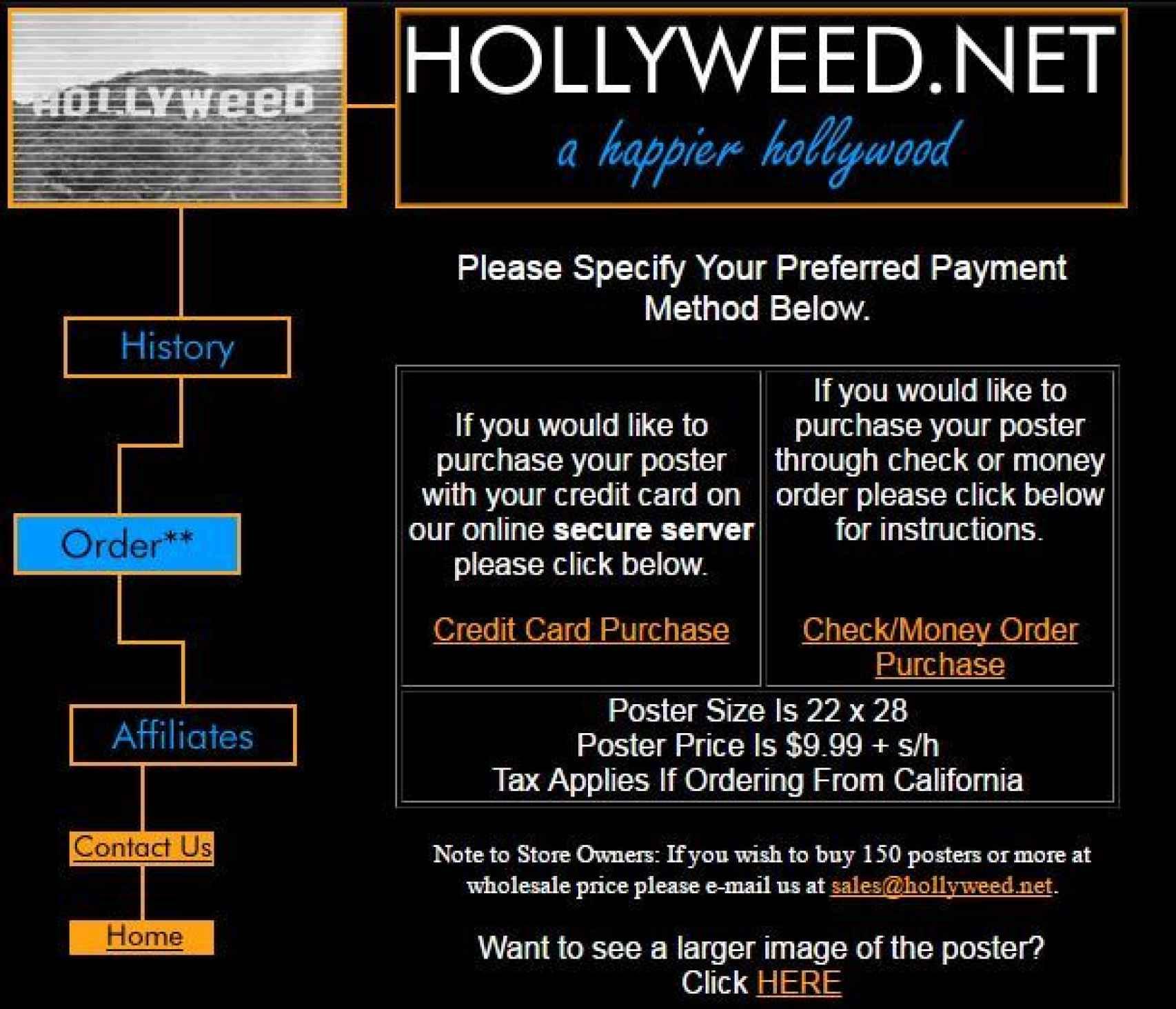 Así era hollyweed.net