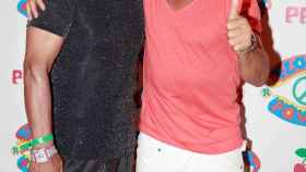 Bikram Choudhury con Nacho Cano en Ibiza