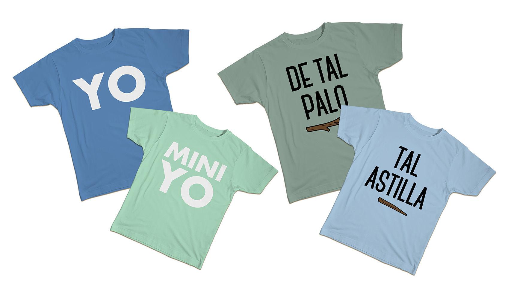 Camisetas Dezuu.