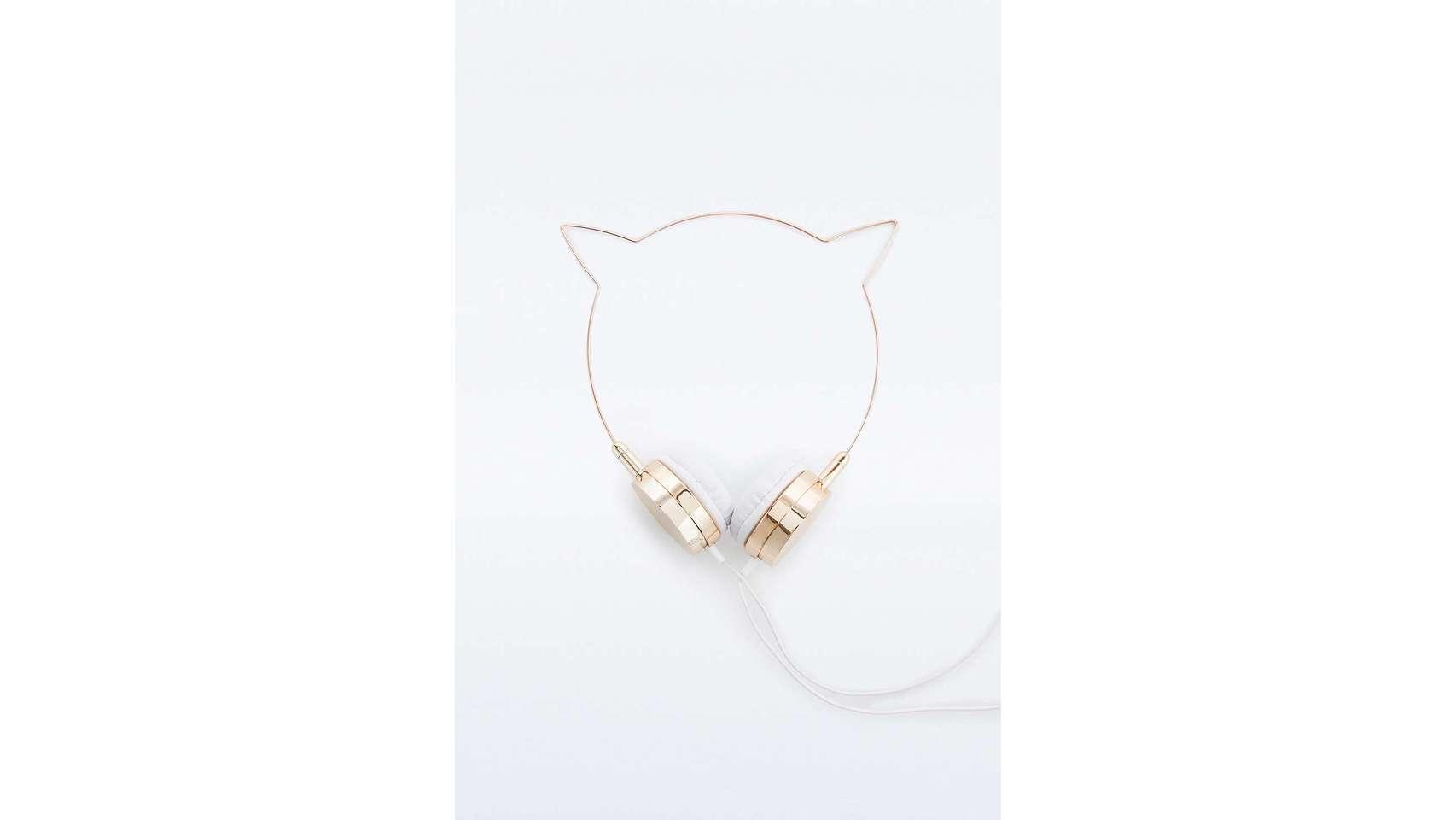 Cascos con orejas de gato.