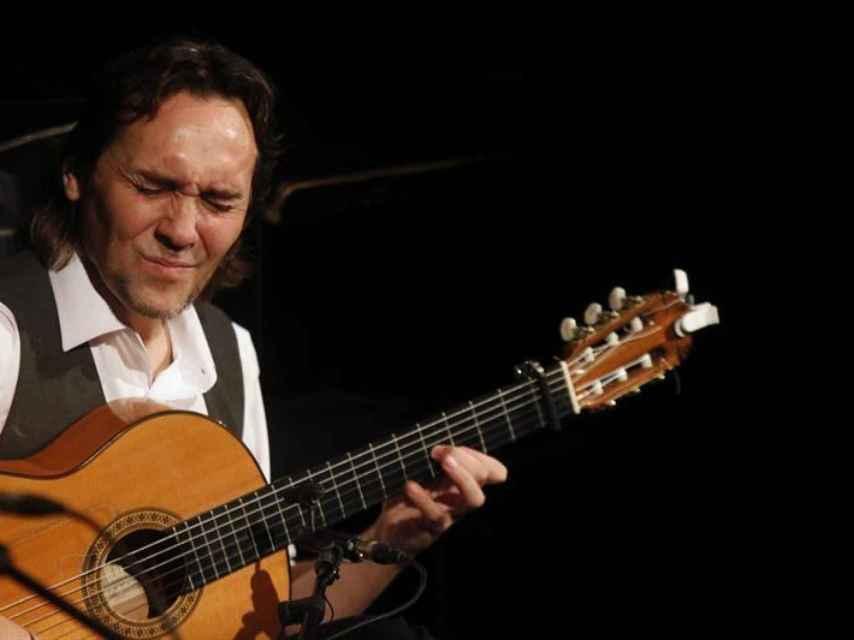 El guitarrista Vicente Amigo en Córdoba hace una semana, con su último trabajo, Poeta.
