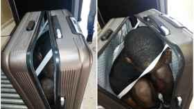 La Guardia Civil solicitó a la mujer que abriera la maleta ante su nerviosismo y evasivas