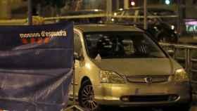 Los Mossos d'Esquadra han acordonado la zona del crimen.