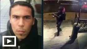 Nueva imagen del presunto terrorista de Estambul.