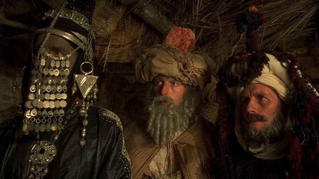 Los tres Reyes Magos en 'La vida de Brian'.