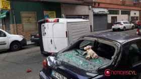 accidente-furgoneta-valladolid-calle-huelva-1