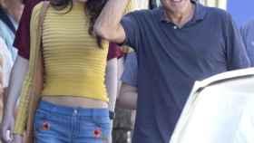 George Clooney y su mujer Amal en la última foto que existe de ella, el pasado mes de octubre.