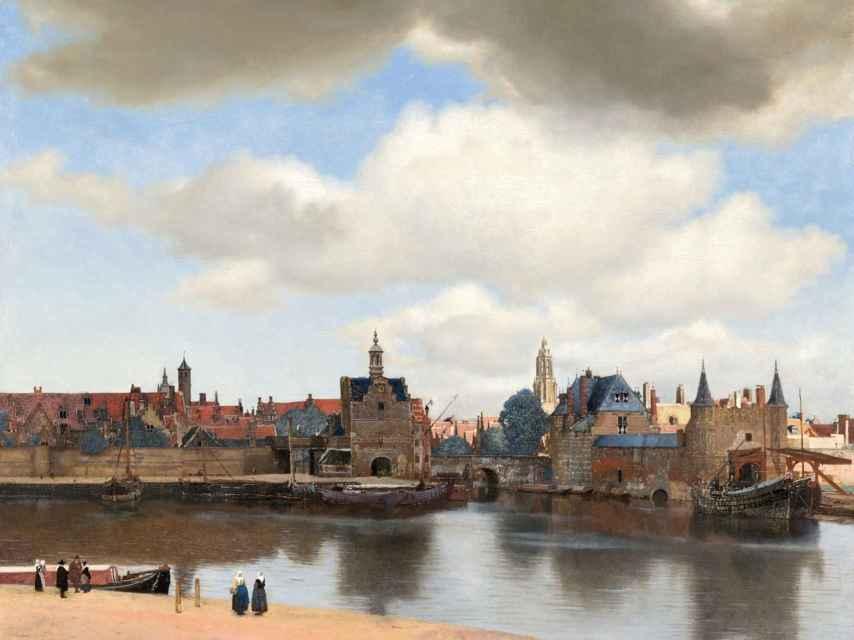 Vista de Delft, de Vermeer, en el Museo Mauritshuis de La Haya.