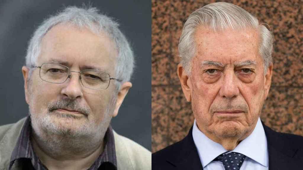 Terry Eagleton y Mario Vargas Llosa.