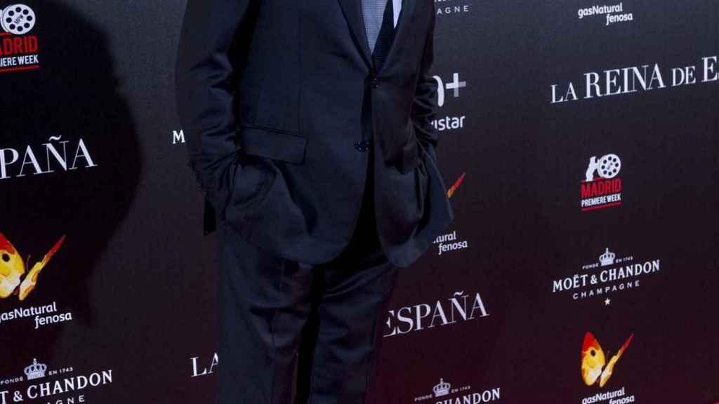 Ricardo Darín en la alfombra roja de la película de La Reina de España.