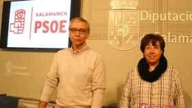 Molino y Carmen PSOE Diputacion salamanca
