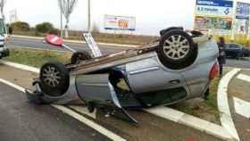 zamora-accidente-vehiculo-volcado