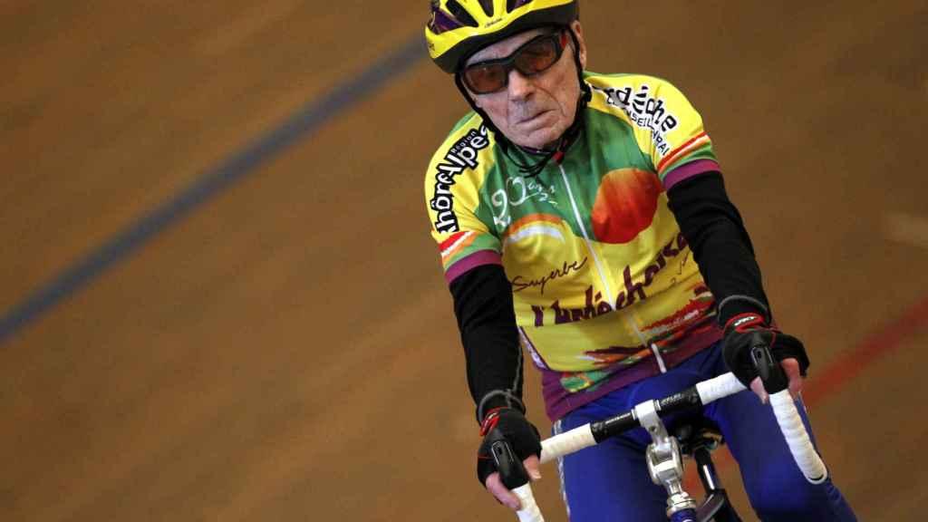 El ciclista Robert Marchand