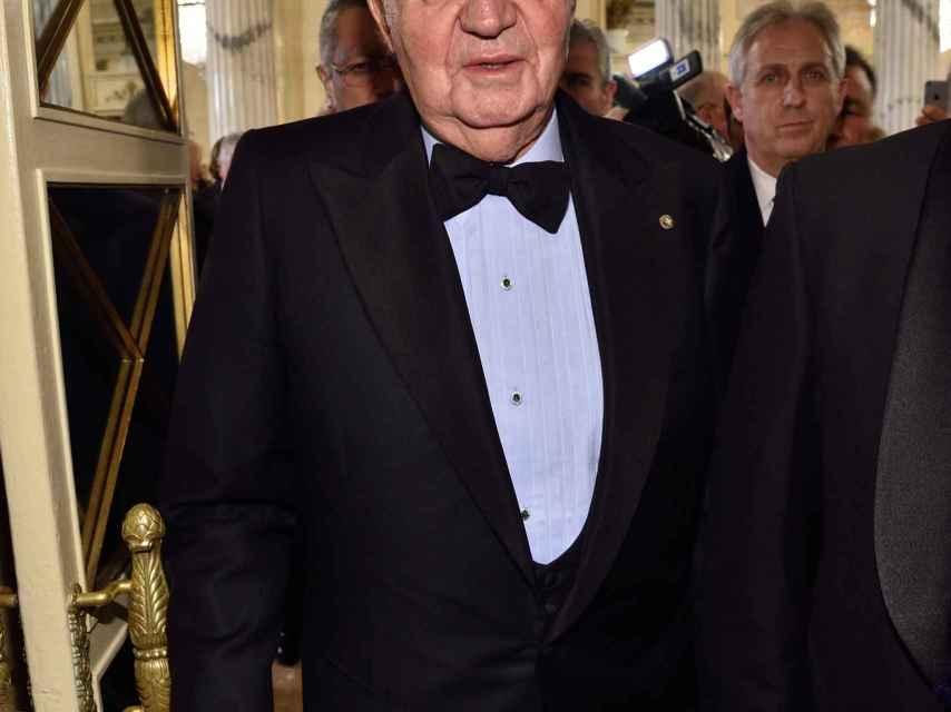 Juan Carlos I el pasado 6 de diciembre en la ópera de Milán, en una de las imágenes más recientes del rey