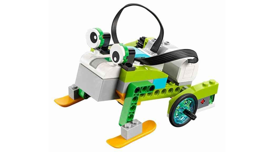 Lego WeDo permite montar distintos robots