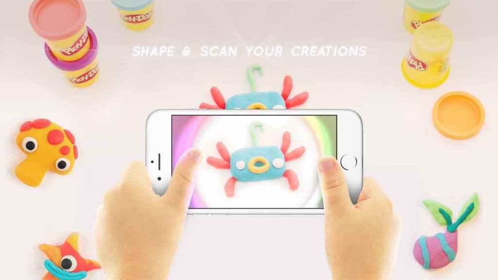 Con Play-Doh Touch, las creaciones de plastilina cobran vida