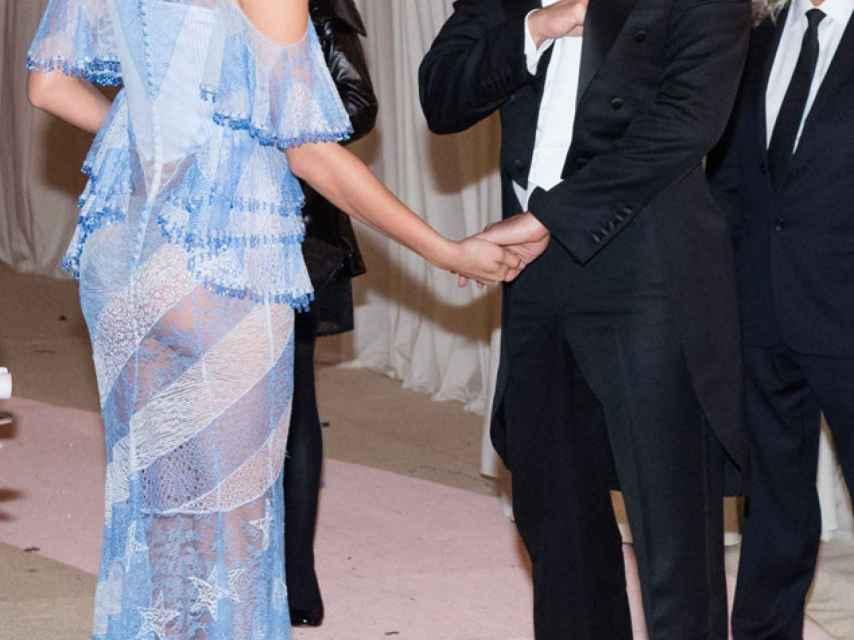 Irina y Bradley Cooper no se separaron durante la gala MET del año pasado.