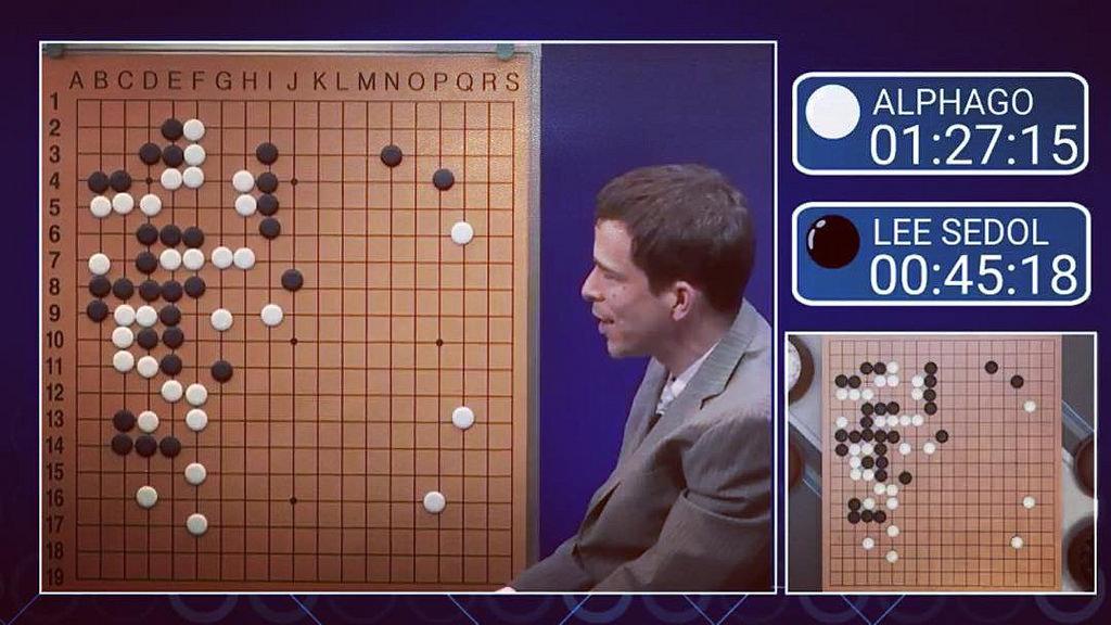 En 2016, AlphaGo venció por 4 a 1 a uno de los mejores jugadores del mundo, el surcoreano Lee Sedol