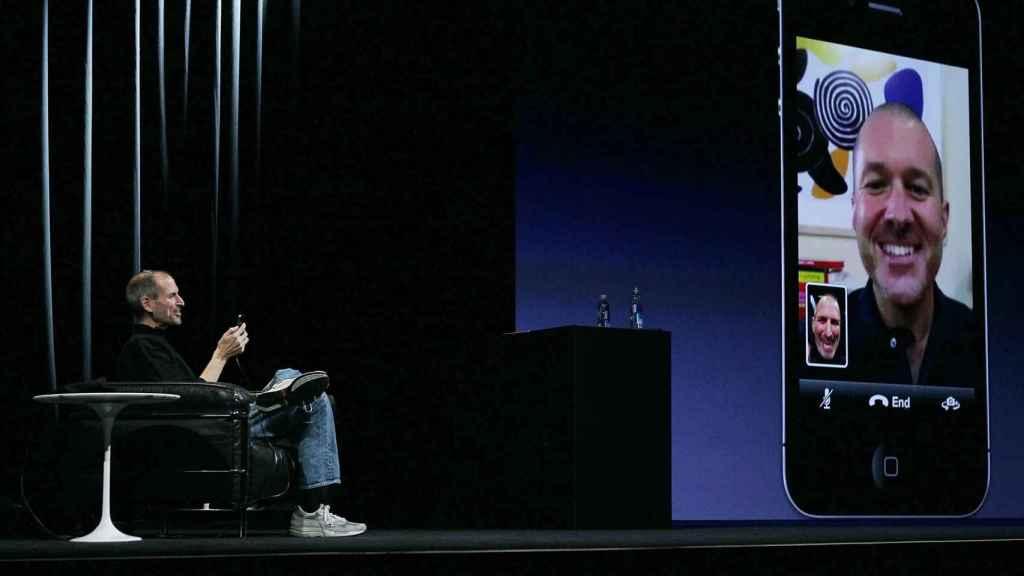 Un iPhone con Facetime