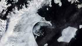 Un iceberg del tamaño de La Rioja, a punto de desprenderse de la Antártida