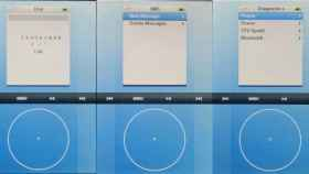 El AcornOS, un sistema operativo basado en la rueda del iPod que nunca vio la luz.