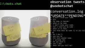 Imagina a HAL 9000 y a un T800 hablando, pues se ha hecho realidad