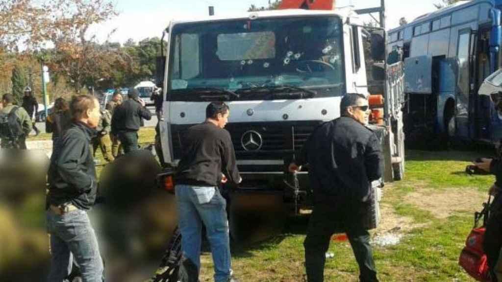 Un camión provoca al menos 4 muertos tras embestir a una multitud en Jerusalén