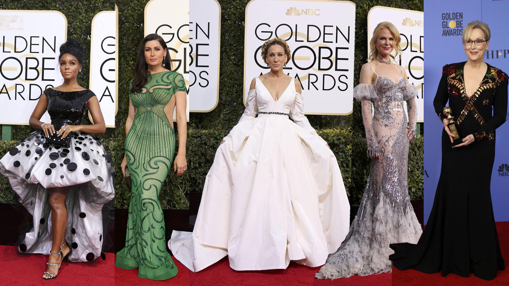 Janelle Monae, Trace Lysette, Srah Jessica Parker, Nicole Kidman y Meryl Streep
