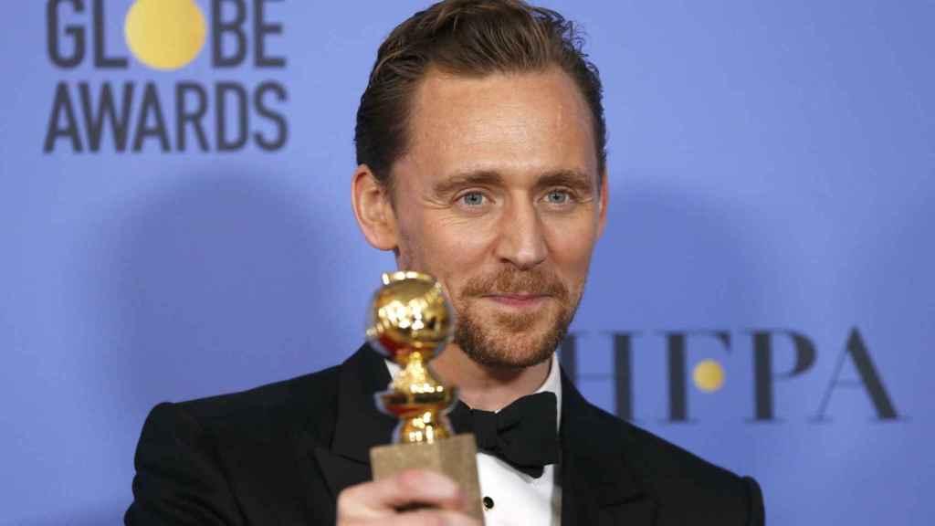 Tom Hiddleston, Mejor actor de Miniserie por 'The Night Manager'.