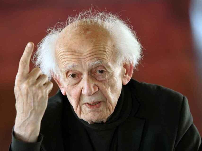 Foto de archivo del pasado marzo del sociólogo Zygmunt Bauman.