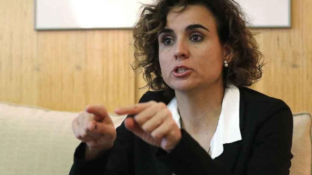 La ministra de Sanidad, Servicios e Igualdad, Dolors Montserrat.