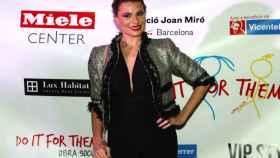 María Lapiedra el pasado mes de noviembre en un acto de la fundación Vicente Ferrer.