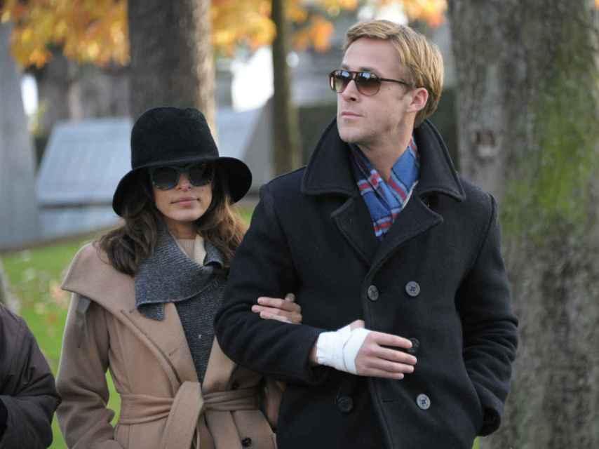 La pareja durante un viaje en París este invierno.