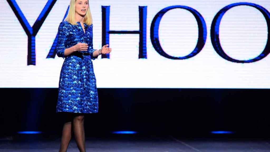 La exCEO de Yahoo, Marissa Mayer