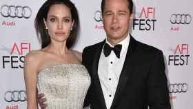 Angelina Jolie y Brad Pitt en su última aparición pública a finales de 2015.