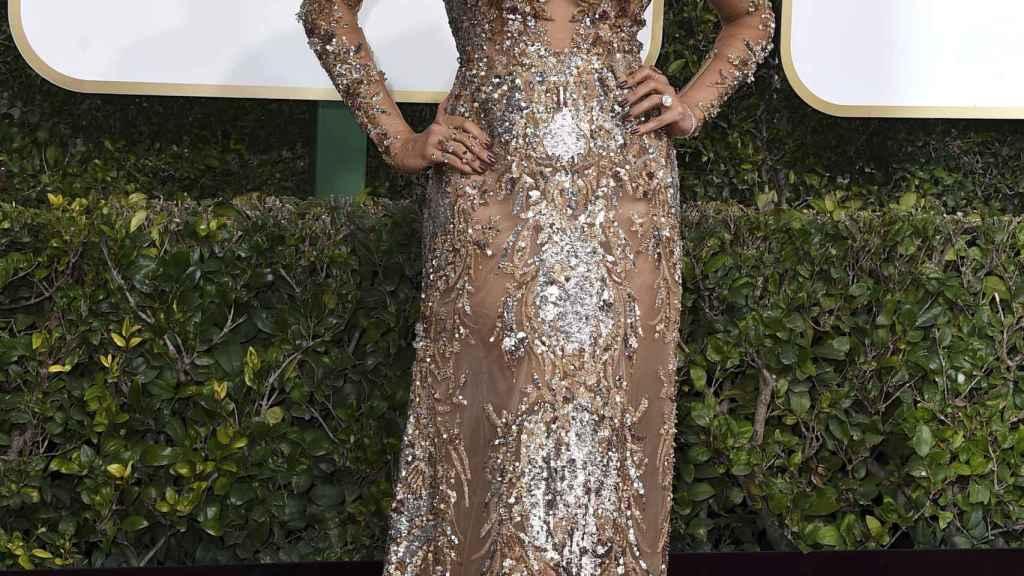 Sofía Vergara en la alfombra de los Globo de Oro