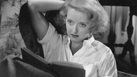 La actriz Bette Davis, en un fotograma de Peligrosa (1935).