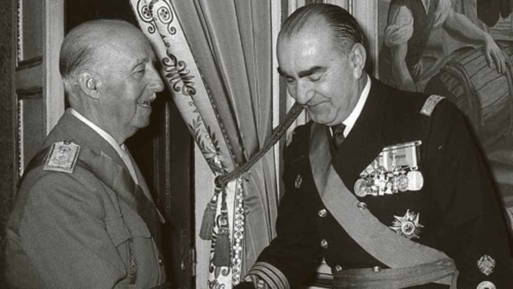 Francisco Franco y Carrero Blanco.