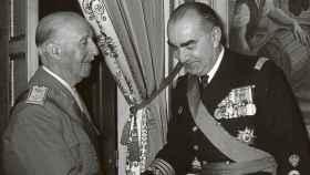 Francisco Franco y Carrero Blanco.
