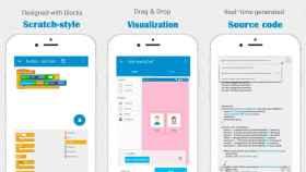 Programa aplicaciones sin salir del móvil con la app Sketchware