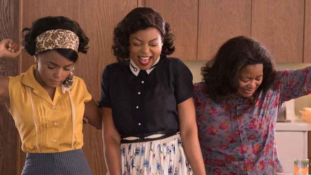 Fotograma de la película Figuras Ocultas, sobre las mujeres negras que trabajaron en la NASA.