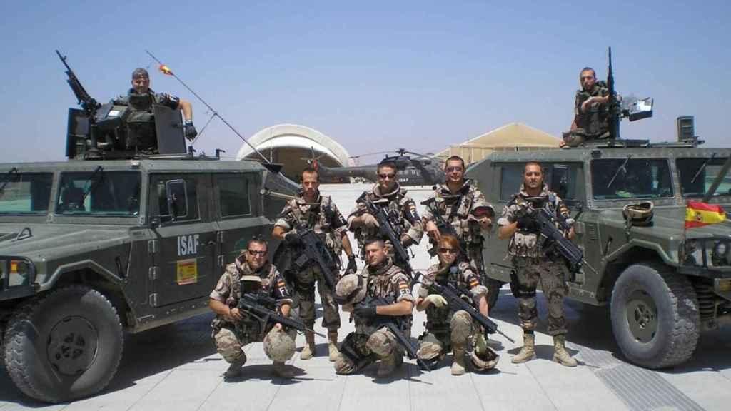 Efectivos españoles en Afganistán, en la misión Resolute Support.