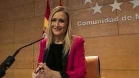 La presidenta de la gestora del PP de Madrid, Cristina Cifuentes.
