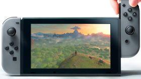 Imagen de una Nintendo Switch.