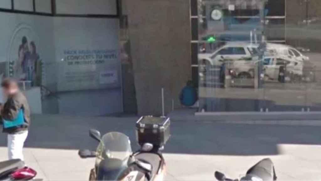 Salva, en una imagen de Google Maps en su rincón de las Torres de Colón (Madrid), donde vivió sus últimos ocho años.