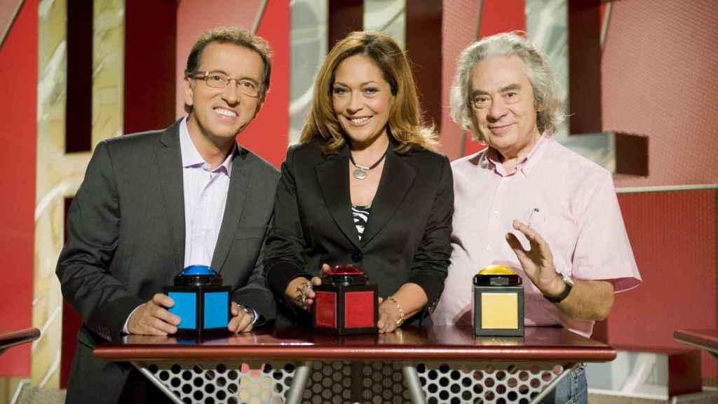 Jordi Hurtado, Pilar Vazquez y Sergi Schaaff, tres de los protagonistas del éxito de Saber y Ganar.