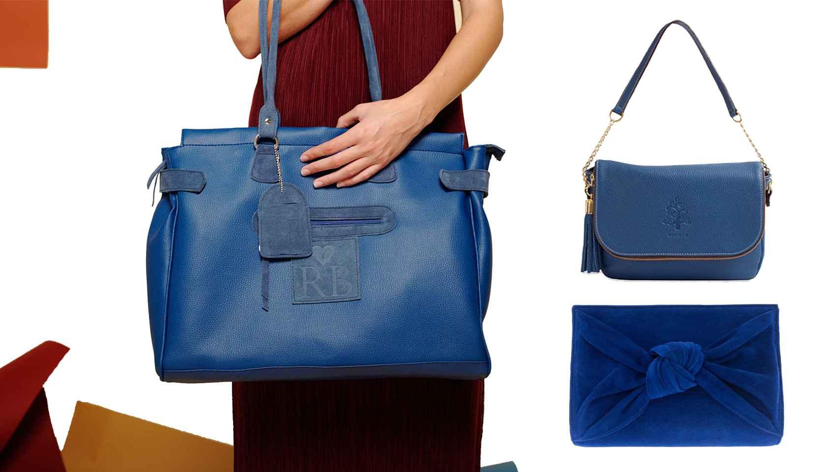 La moda se vuelve azul.